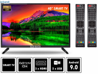 BRAND NEW, KB ELEMENTS smart TV 40' INCH  available  50-55-60-65-75-85