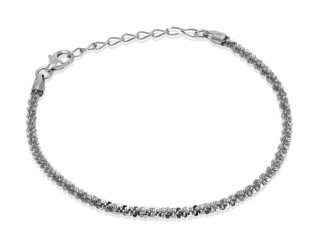 Twinkle Kettenarmband 18,5 cm - 925 Silber Made in Italy
